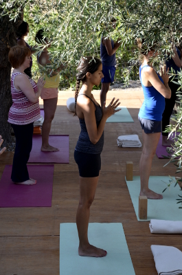namaste-yoga-on-crete-deck-class